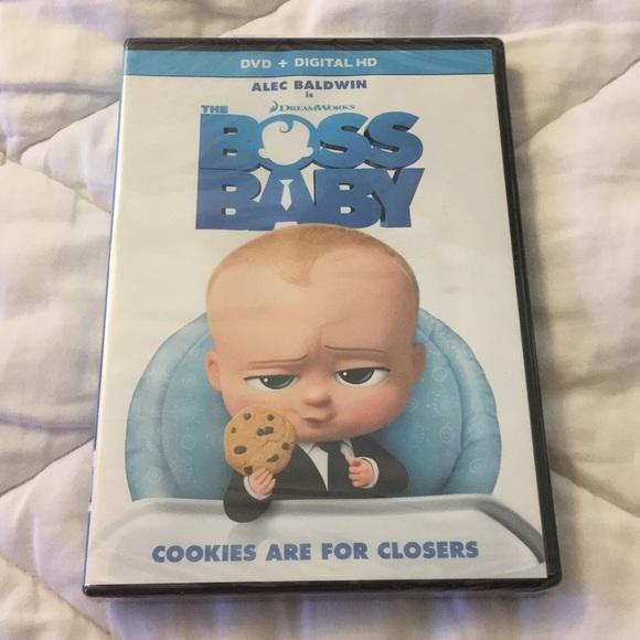 Dreamworks Other New The Boss Baby Dvd Poshmark